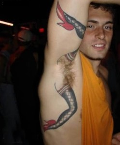 armpit tattoo removal 249x300 6 Bad Tattoos You May Want Removed