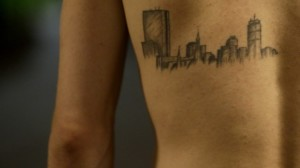 Boston Themed Tattoos2 300x168 Emotional Tattoos   Peoples emotional connect with the Boston Incident