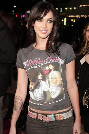 Megan-Fox-Marilyn-Monroe-Tattoo