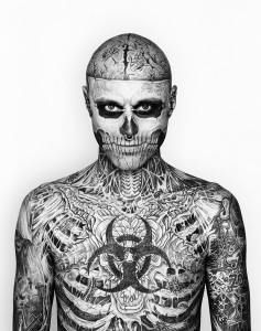 Zombie Boy TheSuiteWorld 237x300 Things To Know About Tattoo Cover Ups
