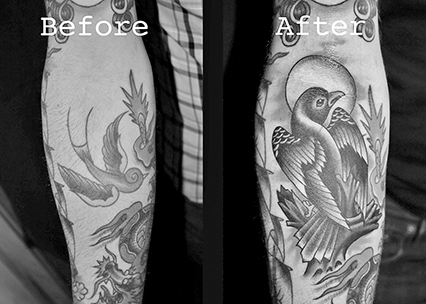 covering up an old tattoo 300x214 covering up an old tattoo